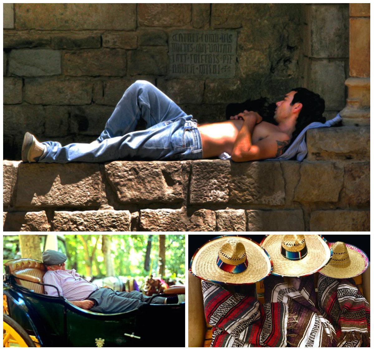 Сиеста - дневной сон для испанцев