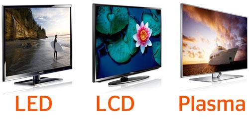 Чем отличается lcd от led телевизора