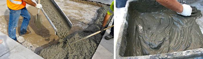 Применение и приготовление тощего бетона