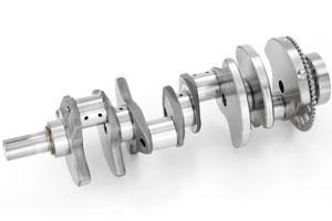 Коленчатый вал двигателя: конструкция и назначение