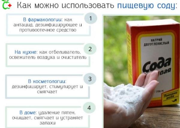 Столовая сода: целебные свойства, применение и оздоровление