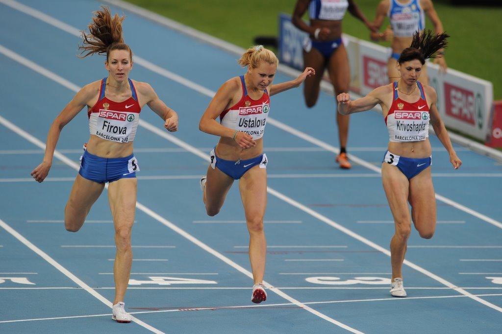 Скорость бега человека при занятиях различными видами бега