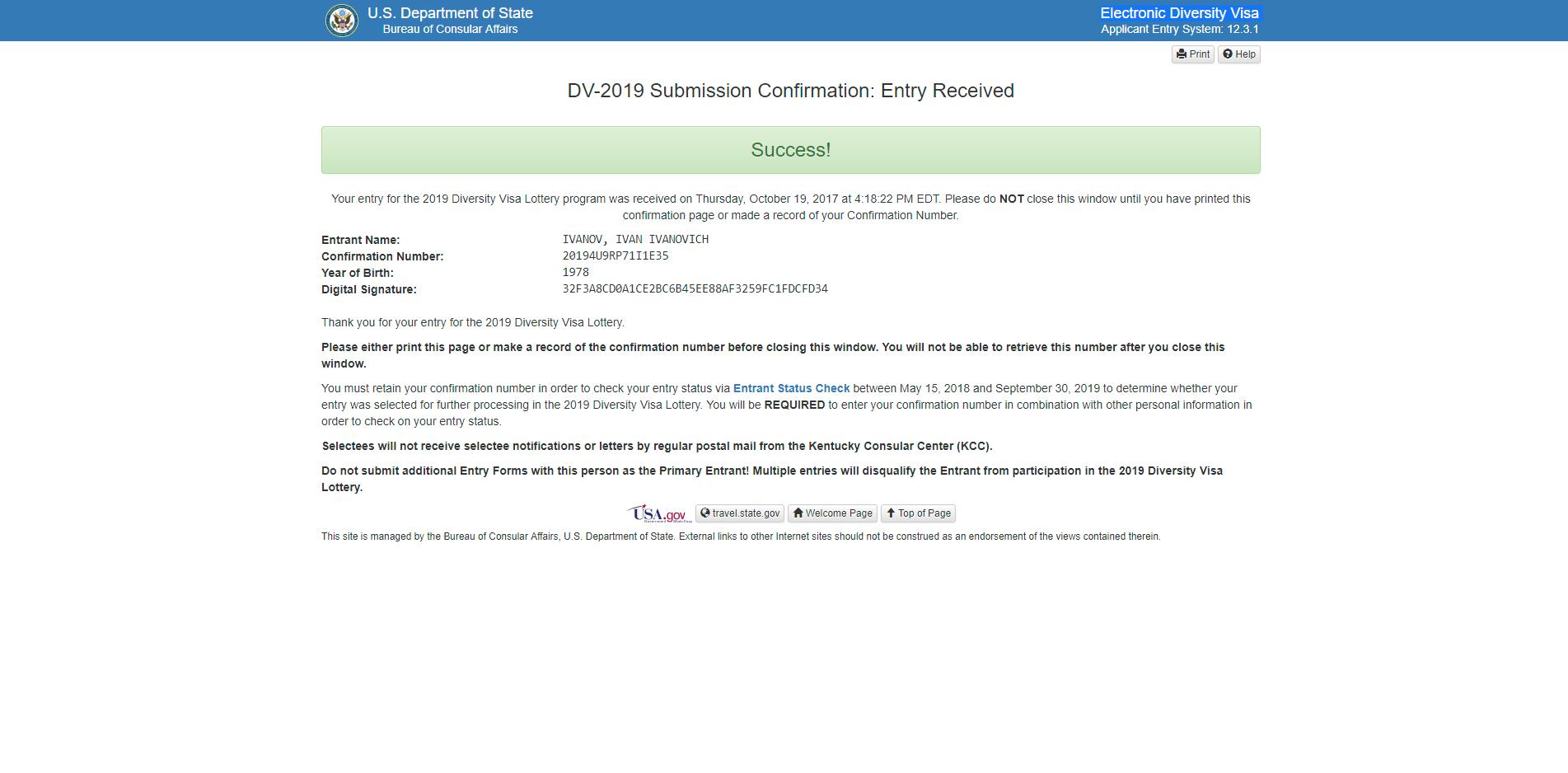 Официальный сайт грин карты, как выиграть карту в сша, и что она даёт