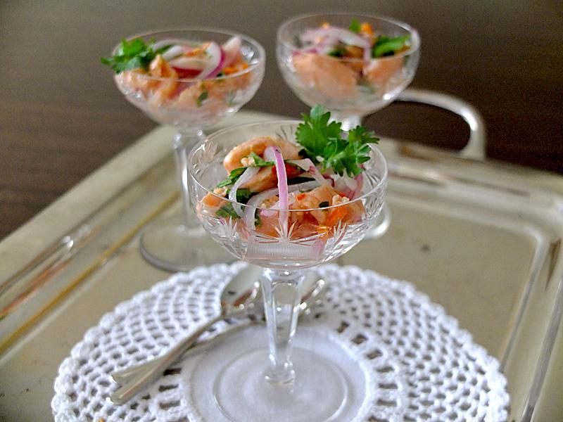Севиче из шампиньонов – кулинарный рецепт