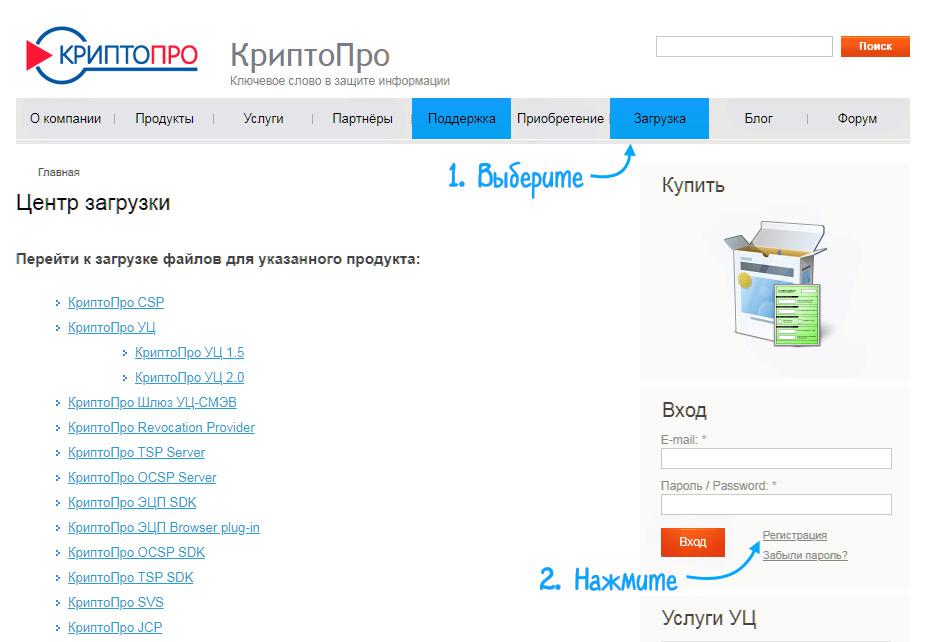 Криптопро | криптопро эцп