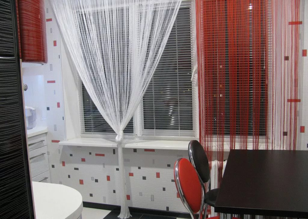 Из каких ниток сделать шторы. как сделать нитяные шторы своими руками. нитяные шторы: видео