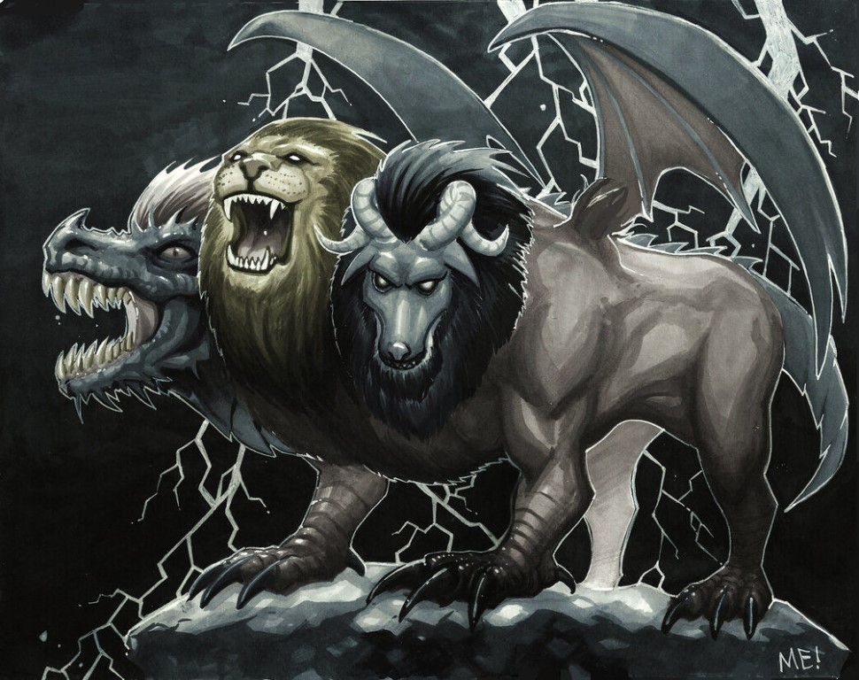 Химера (мифическое существо): что это такое, как выглядит, мифология