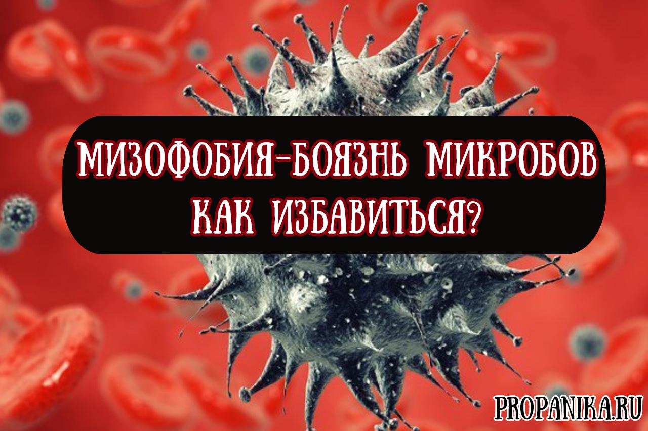 Как называется боязнь микробов и грязи, признаки, симптомы и как ее лечить?