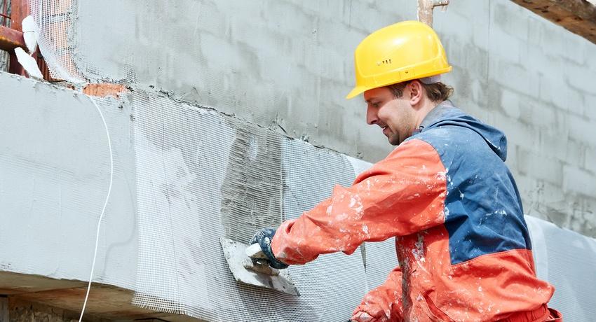 Отделка мокрый фасад, варианты и преимущества данной технологии
