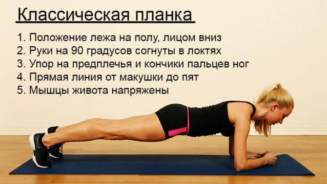 Упражнение планка: что дает  мужчинам и как правильно делать