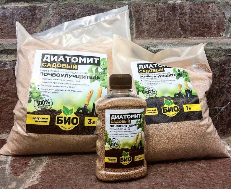 Диатомит — инновационные технологии в уходе за растениями — ботаничка.ru