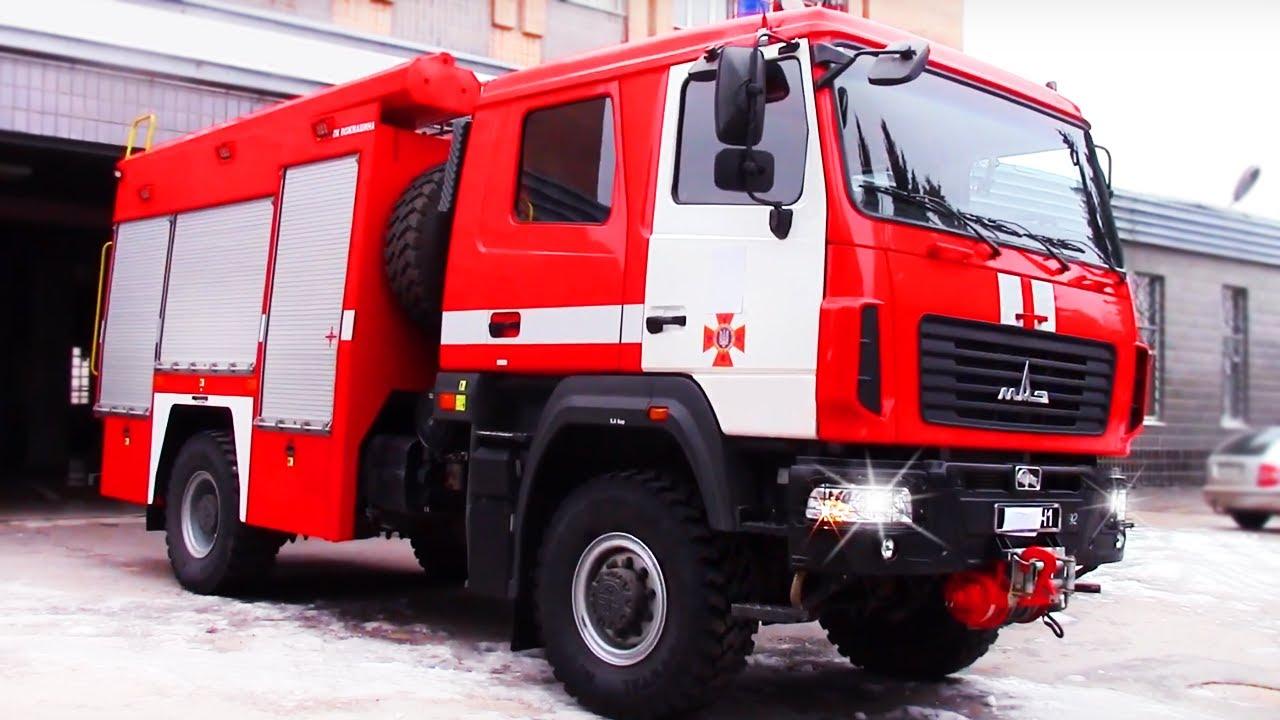 Специальные пожарные автомобили виды назначение