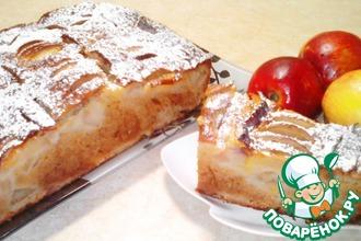 Пышная шарлотка с яблоками в духовке – 11 простых рецептов с поэтапными фото и пошаговым описанием