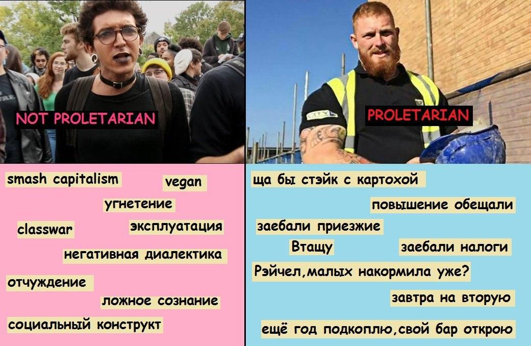 Пролетариат - proletariat
