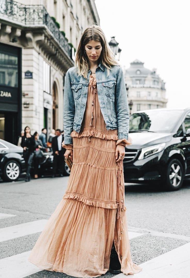 Стиль бохо в современной женской одежде