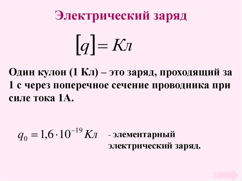 Электрический заряд — википедия. что такое электрический заряд