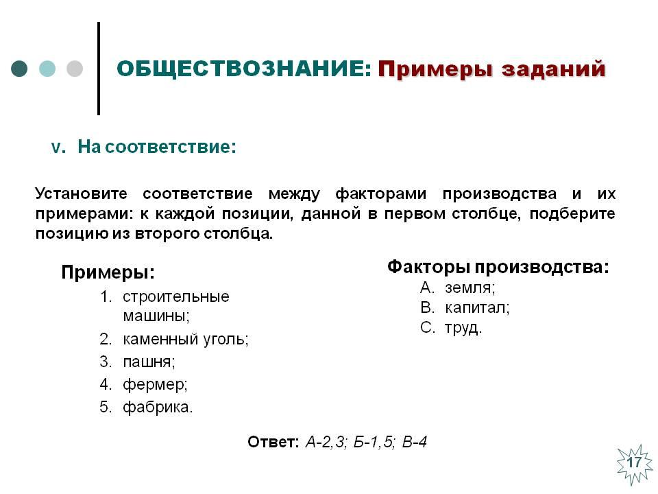 Основные факторы производства -