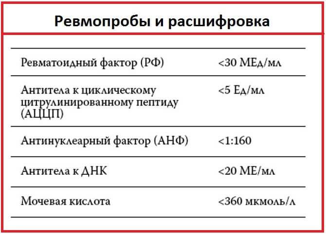 Ревматоидный фактор (рф)