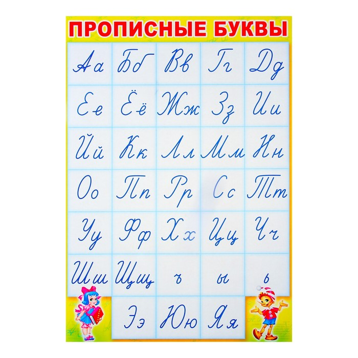 Прописные и строчные буквы: что это такое, чем отличаются и как выглядят