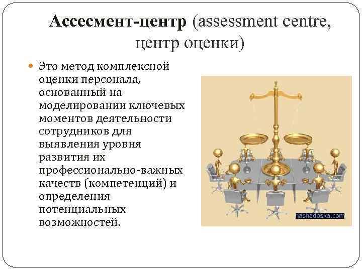Ассессмент центр - примеры заданий