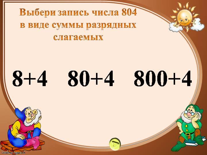 Разрядное слагаемое в математике. сумма разрядных слагаемых
