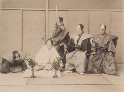 Харакири и сеппуку - чем отличаются, специальный нож кусунгобу, девушки, делающие ритуальное самоубийство, соответствие кодексу самураев бусидо