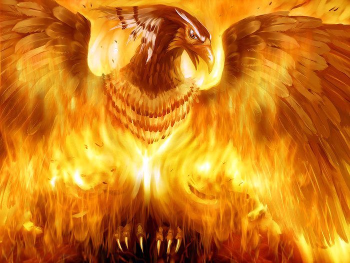 Феникс – это птица, которая символизирует вечное обновление и бессмертие