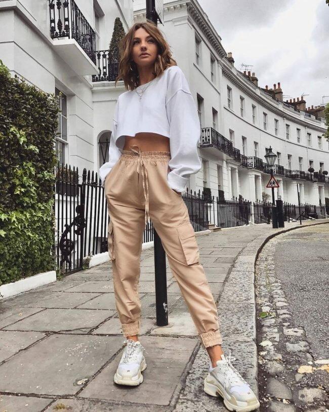 Модели штанов джоггеров, правила создания стильного образа