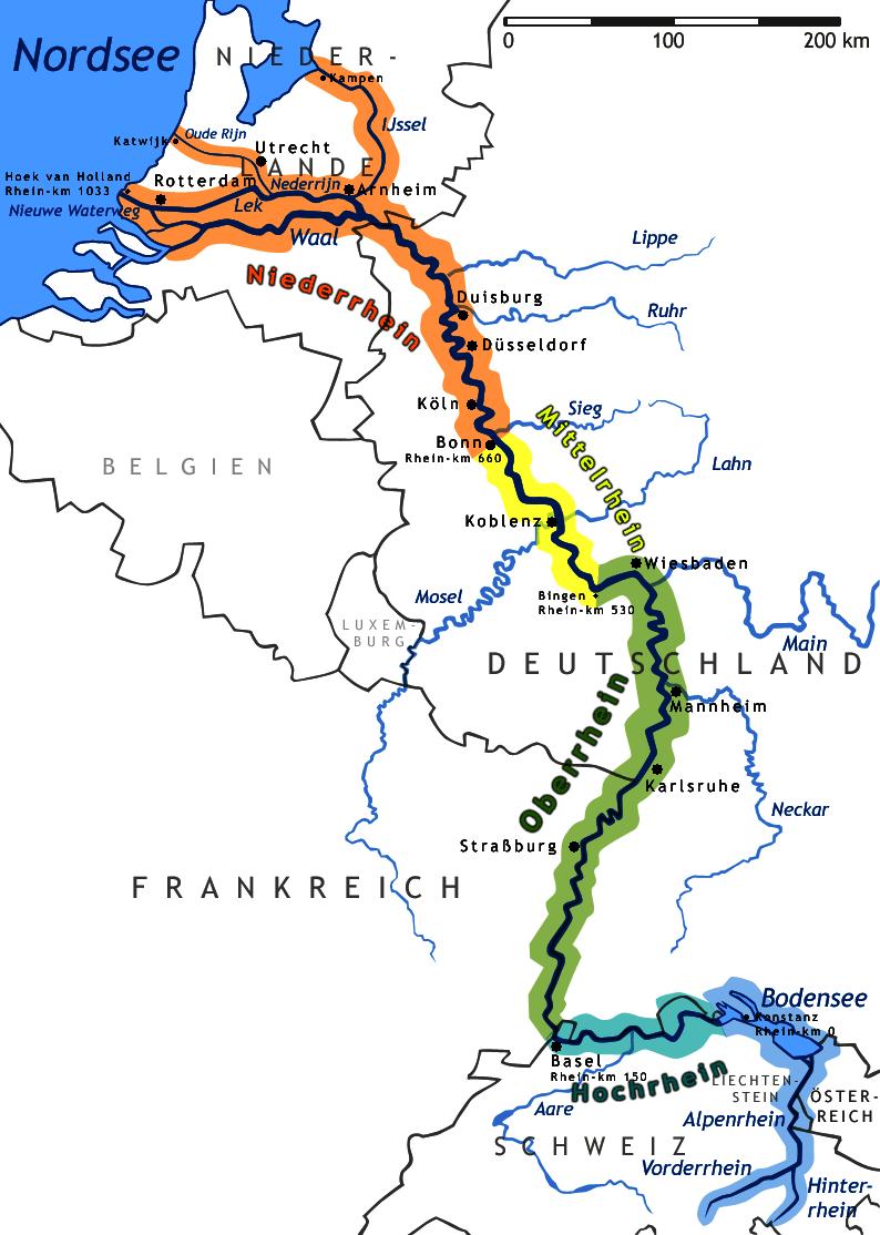 Рейн — википедия