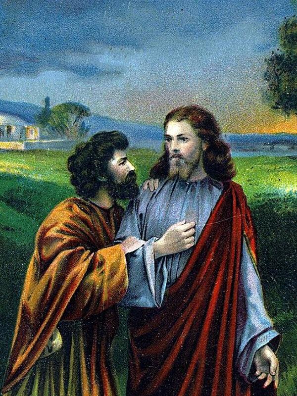 Кто такой иуда и почему он предал христа   православиум