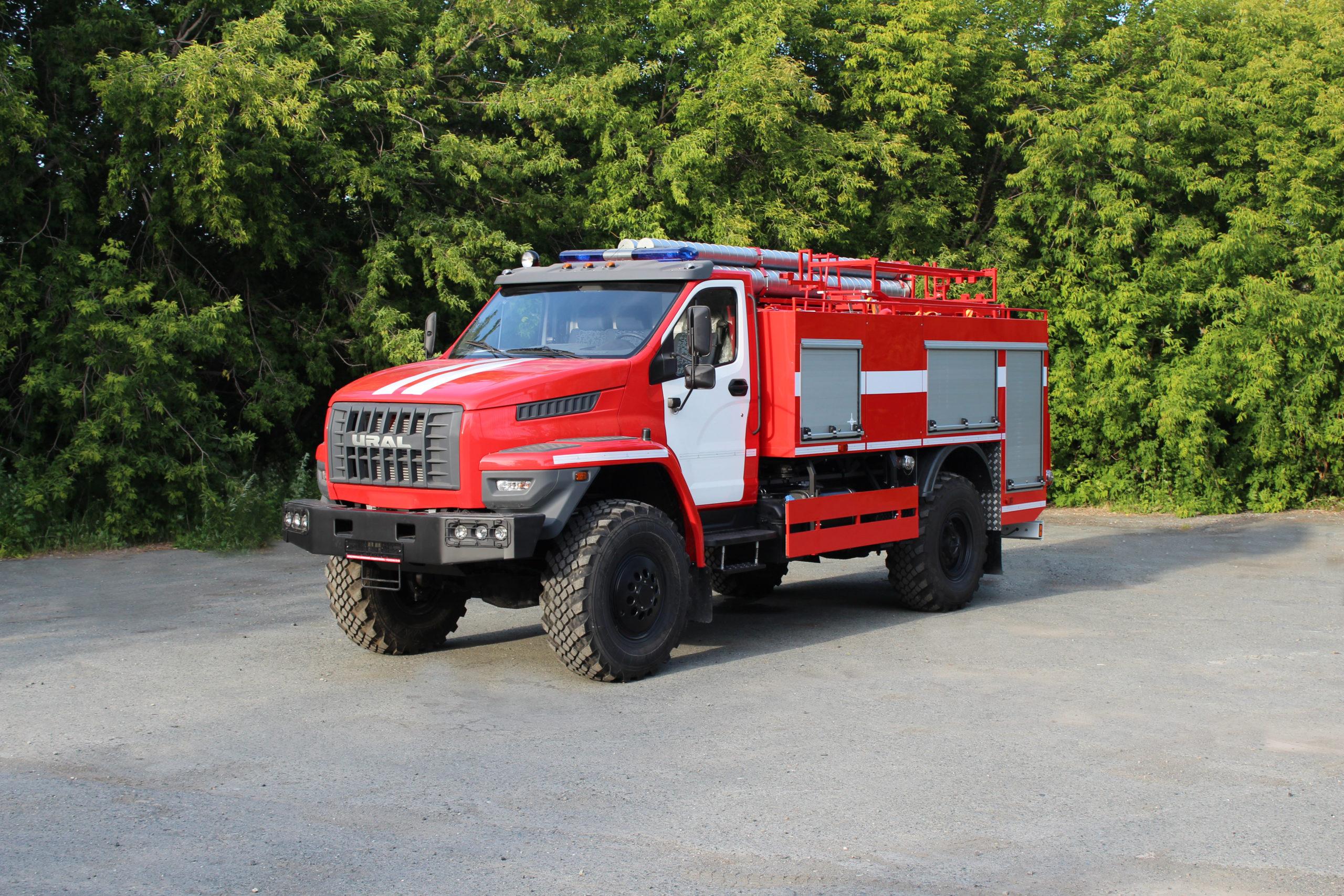 Пожарные автомобили: классификация, виды, назначение