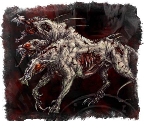 Цербер — многоглавый хранитель царства мертвых