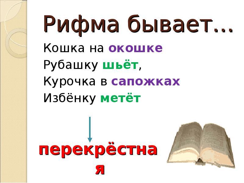 Что такое рифма: какие виды бывают + правила написания стихов с примерами