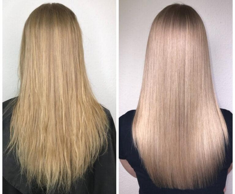 Наборы и препараты для кератинового выпрямления волос