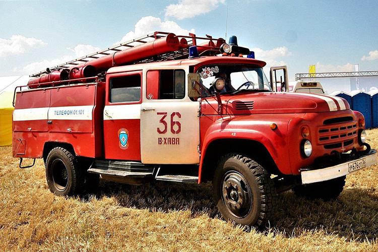 Российские пожарные машины: описание и фото