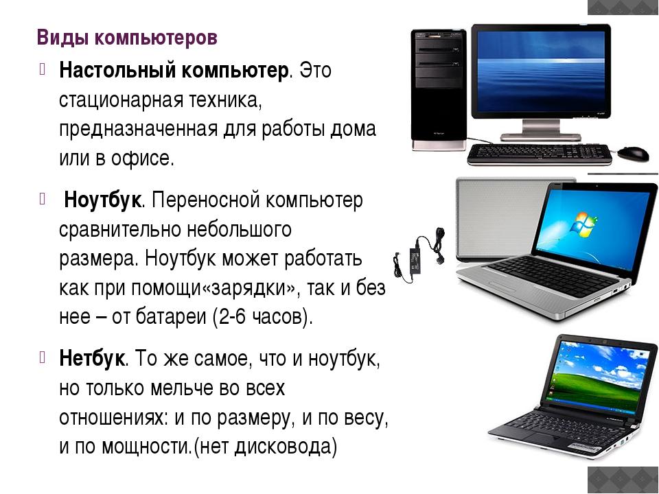 Устройство компьютера. что в нем есть и для чего?