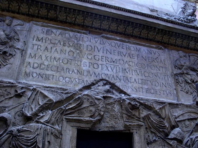 Римские достижения: предназначение мемориальных колонн | крамола