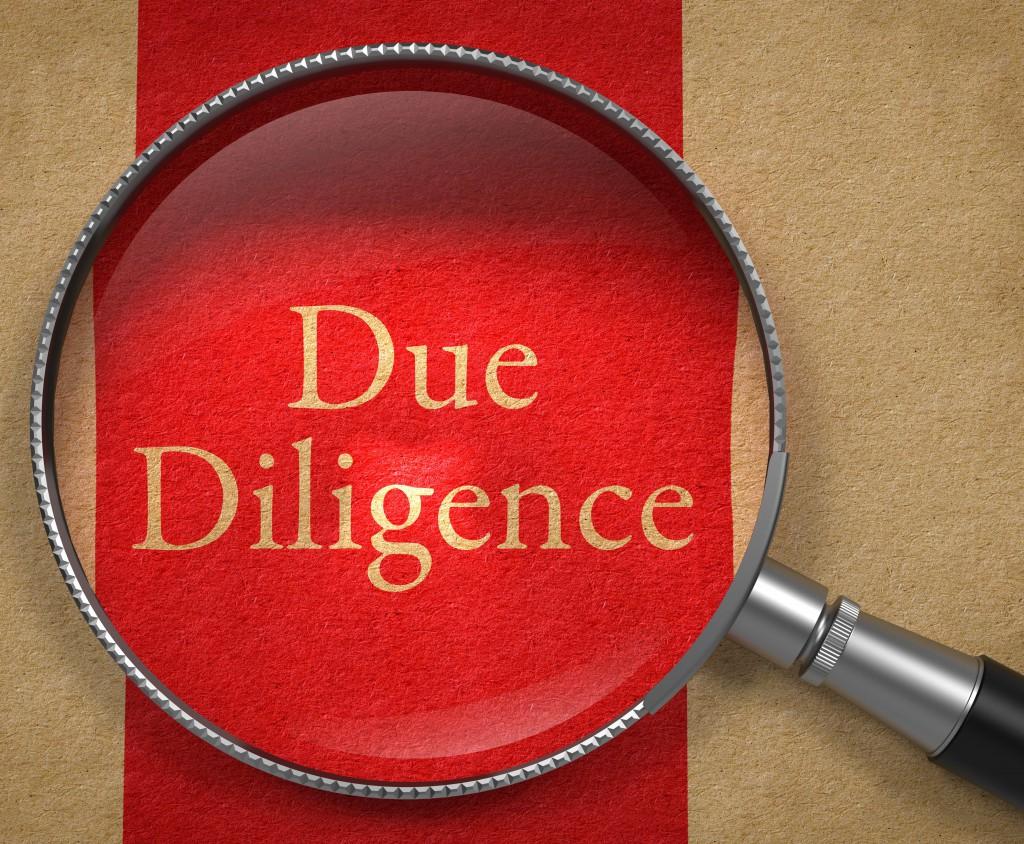 Due diligence (дью дилидженс) - проведение процедуры due diligence