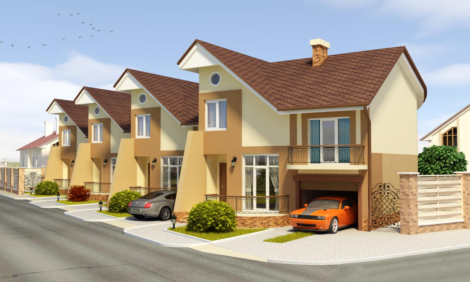 Таунхаус и частный дом: каковы плюсы и минусы обоих видов жилья
