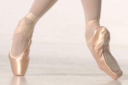 Пуанты - обувь для балета