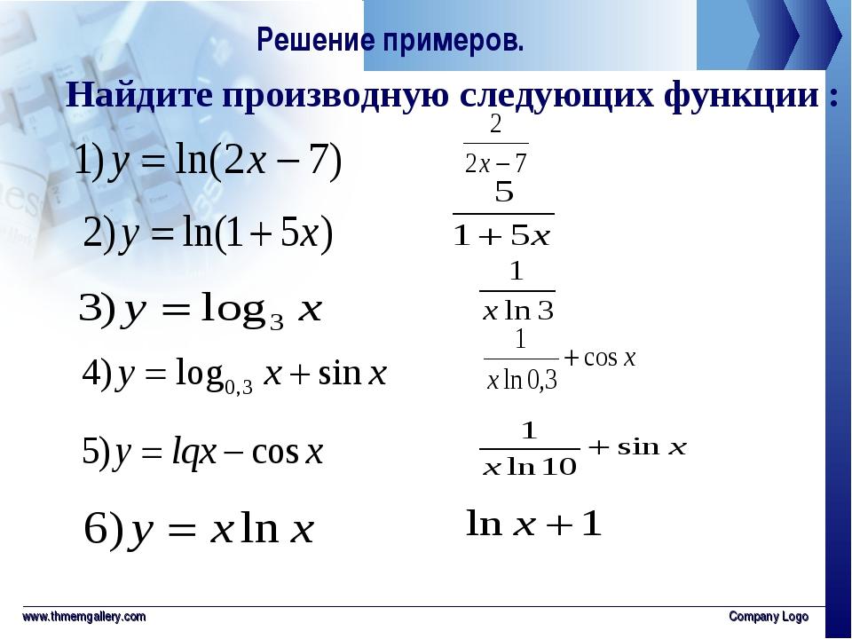 Что такое логарифм простыми словами