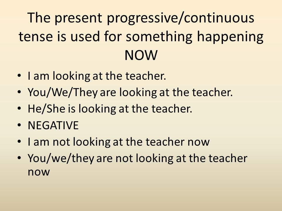 Present simple vs present continuous – правила, как отличить, разница в таблице
