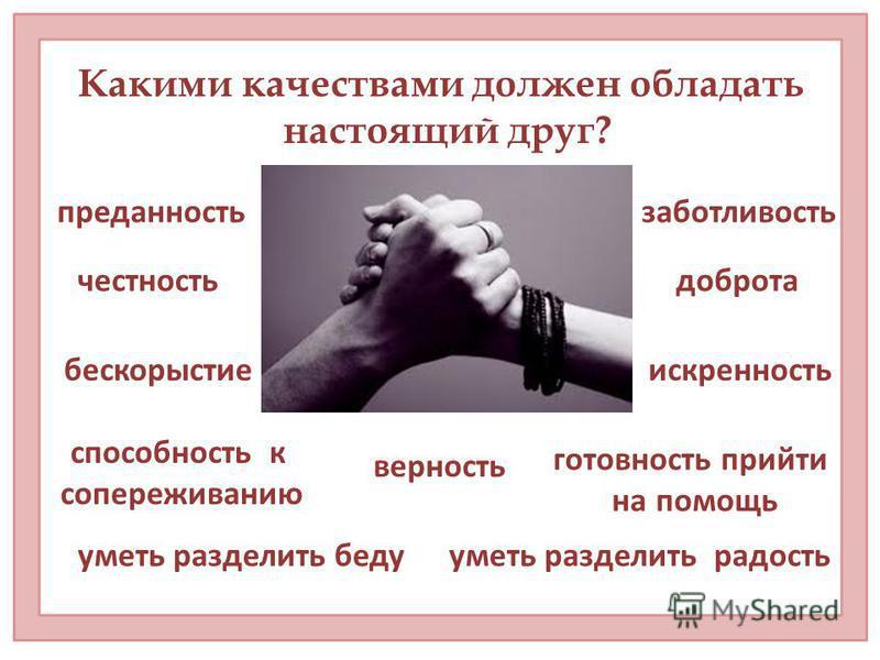 Сочинения на тему «дружба» ✔️