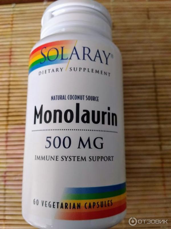 Монолаурин: природное противовирусное и антибактериальное средство | |