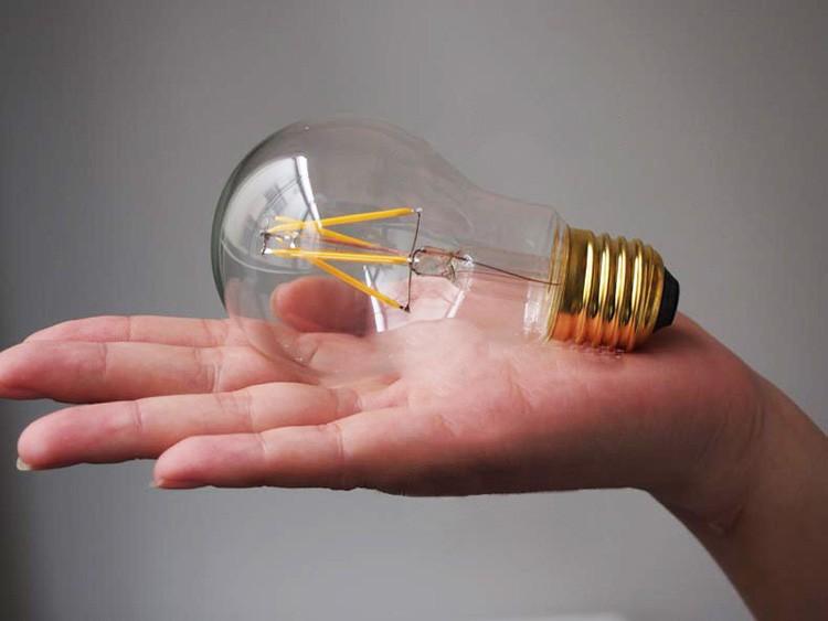 Филаментные лампы: светодиодные