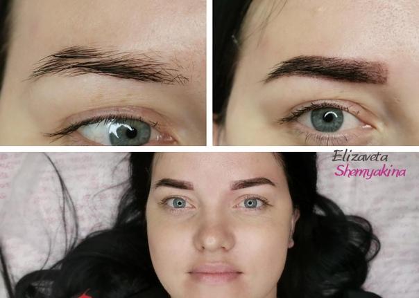 Перманентный макияж бровей - методы качественного окрашивания и отличие от татуажа