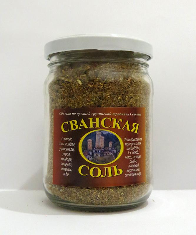 Сванская соль – кулинарный рецепт