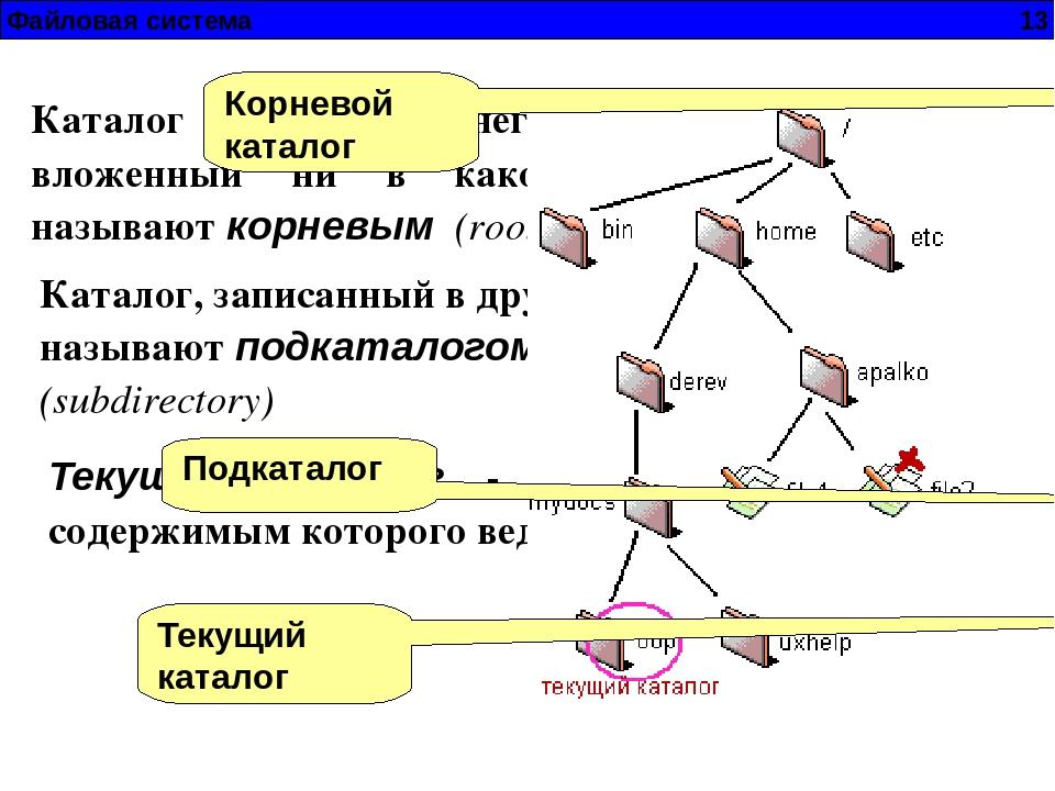 Каталог (файловая система) — википедия. что такое каталог (файловая система)
