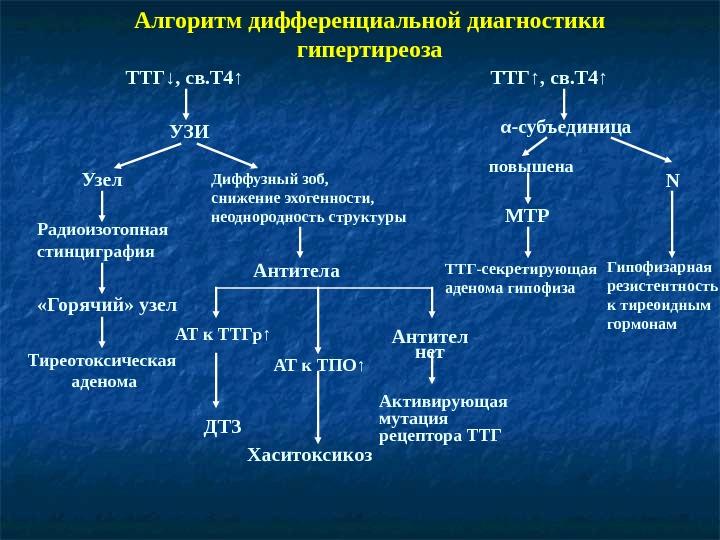 Анализ крови на ттг, норма ттг по возрастам