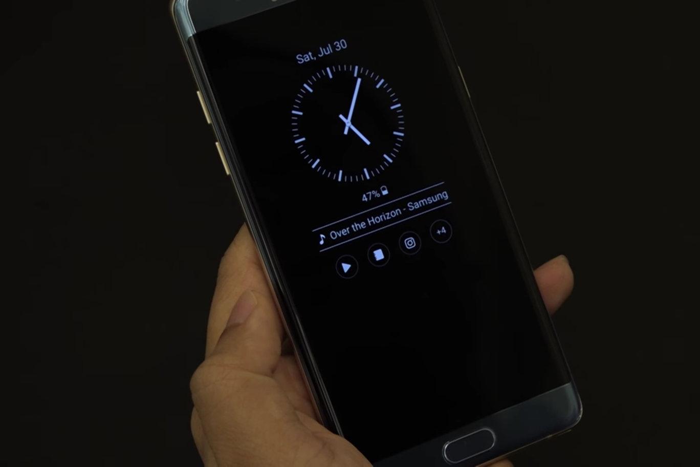 Функция always on display (aod) на смартфонах samsung galaxy